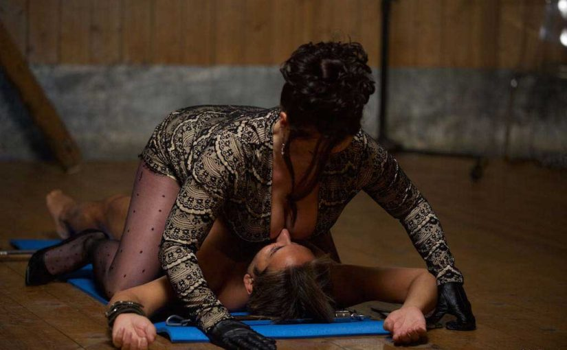 Naked Restrained In Miss Hybrid's Dungeon