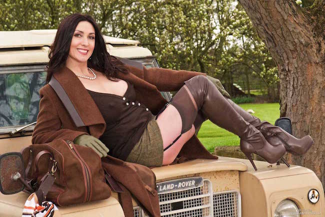 Miss Hybrid Leather Thigh Boots