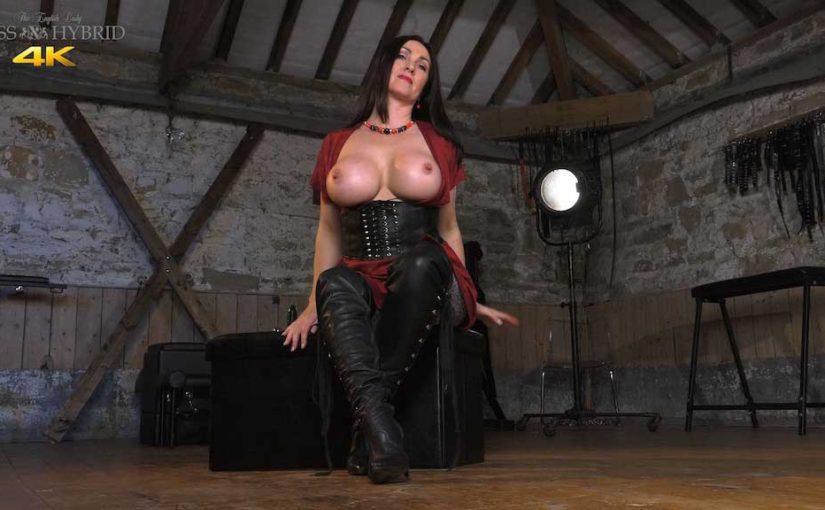 Big Tits Leather Boots Hand Job